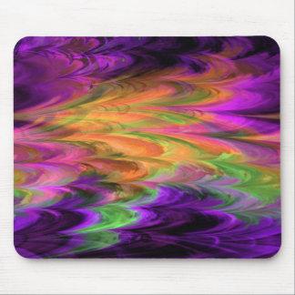 Fractal Marble Rainbow Mousepad