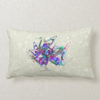 Fractal - Mardi Gras Mask Pillow