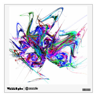 Fractal - Mardi Gras Mask Wall Graphics