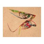 Fractal - mariposa flotante papel de corcho para fotos