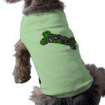 Fractal Maze Doggie Bone Pet T Shirt