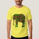 Fractal Maze Elephant T Shirt