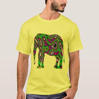 Fractal Maze Elephant T-Shirt