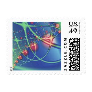 fractal mf 172 postage stamps