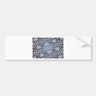 Fractal Mind Bender Bumper Sticker