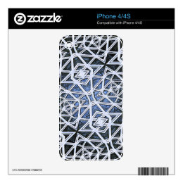 Fractal Mind-Bender Decals For The iPhone 4S
