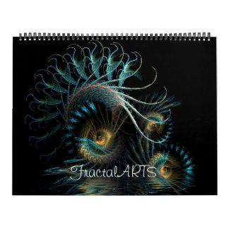 Fractal MiX ARTS 2012 Calendar