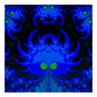 Fractal Monsters Posters