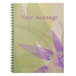 """Fractal """"Morning Blossom"""" Journal"""