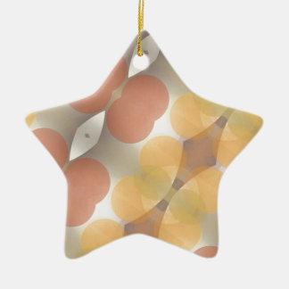 Fractal multicolor, Multi-formado dimensional Adorno Navideño De Cerámica En Forma De Estrella