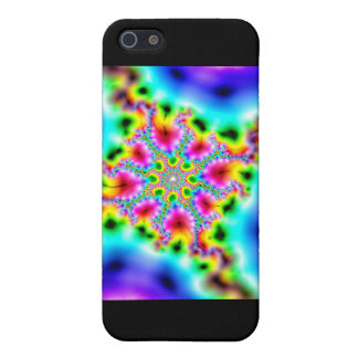 fractal multicoloured effects iPhone SE/5/5s cover