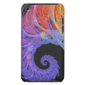 Fractal Nerve iPod Touch 4G BarelyThere Case