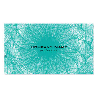 Fractal Network Double-Sided Standard Business Cards (Pack Of 100)
