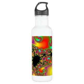 Fractal NO2 H2O  Bottle 24oz Water Bottle