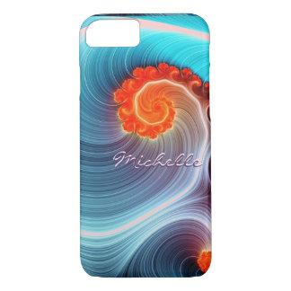 Fractal Ocean Wave iPhone 7 Case