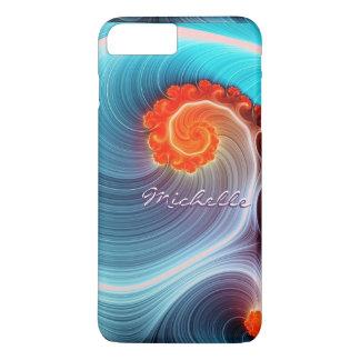 Fractal Ocean Wave iPhone 7 Plus Case
