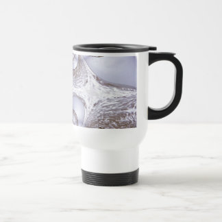 Fractal of An Angry Sea Travel Mug