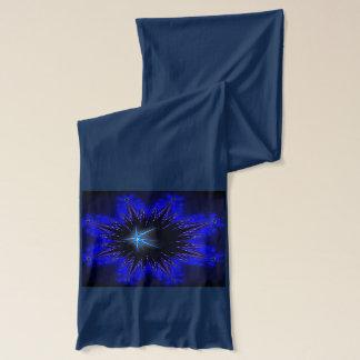 Fractal on a neck scarf