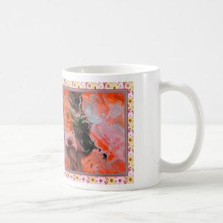 Fractal orange (SF) Basic White Mug