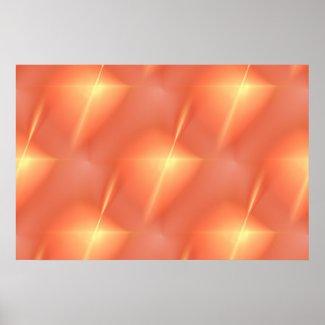 Fractal Orange Star