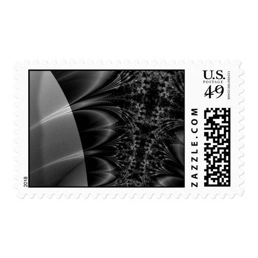Fractal oscuro del rastro sellos