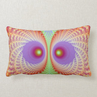 Fractal Owl American MoJo Pillows