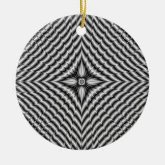 Fractal Owl Ornament