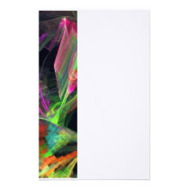 Fractal - Owl Swooping Stationery