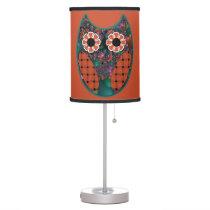 Fractal Owl Table Lamp