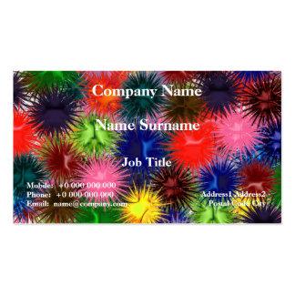 Fractal Paintballs Business Card Pack Of Standard Business Cards