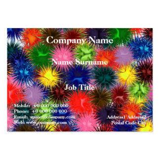 Fractal Paintballs Chubby Business Card Pack Of Chubby Business Cards