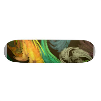 Fractal - Paisley Closeup Custom Skateboard