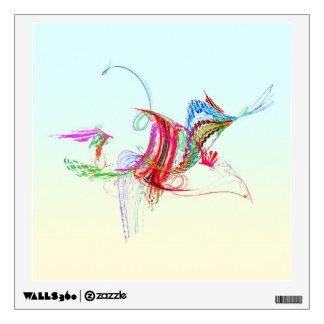 Fractal - pájaro de vuelo