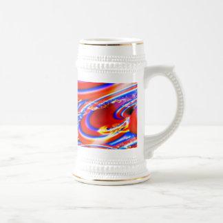 Fractal Party Stein Coffee Mug