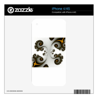 Fractal Passageway Decals For The iPhone 4S