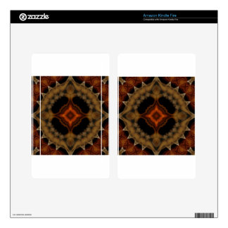 fractal pattern decal for kindle fire