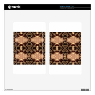fractal pattern kindle fire skins