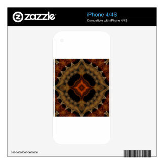 fractal pattern skin for the iPhone 4S