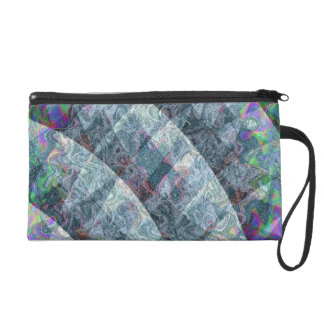 fractal patterns 3 mf wristlet