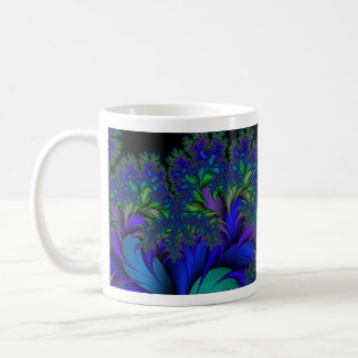 Fractal Peacock Ore 2 Coffee Mug