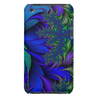 Fractal Peacock Ore 2 iPod Case-Mate Case