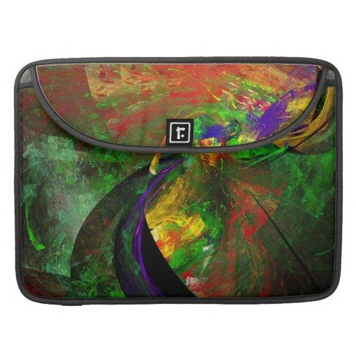 Fractal - Peacock Sleeves For MacBooks