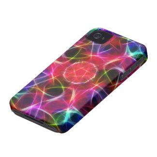 Fractal Pentagram iPhone 4 Case-Mate Case