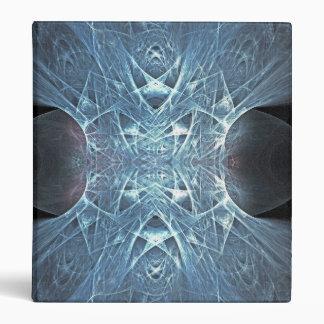 Fractal Pentagram Mirrored Binder