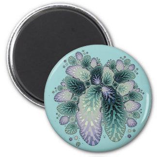 Fractal Petals Refrigerator Magnet