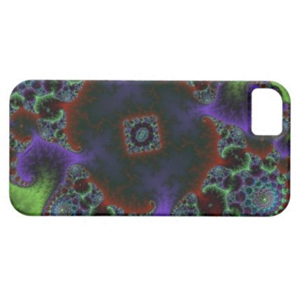 fractal phone iPhone 5 case