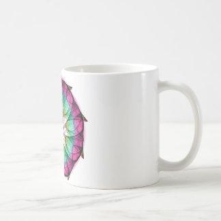 Fractal Pink Blue Coffee Mug