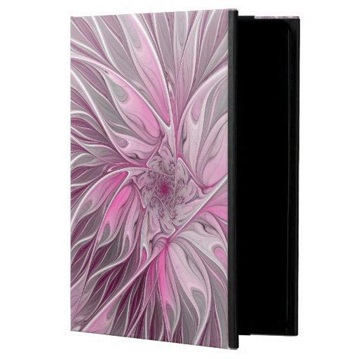 Fractal Pink Flower Dream, Floral Fantasy Pattern Powis iPad Air 2 Case