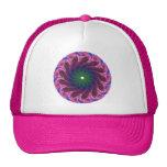 Fractal Pink Green Hat