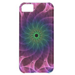 Fractal Pink Green iPhone 5C Cover